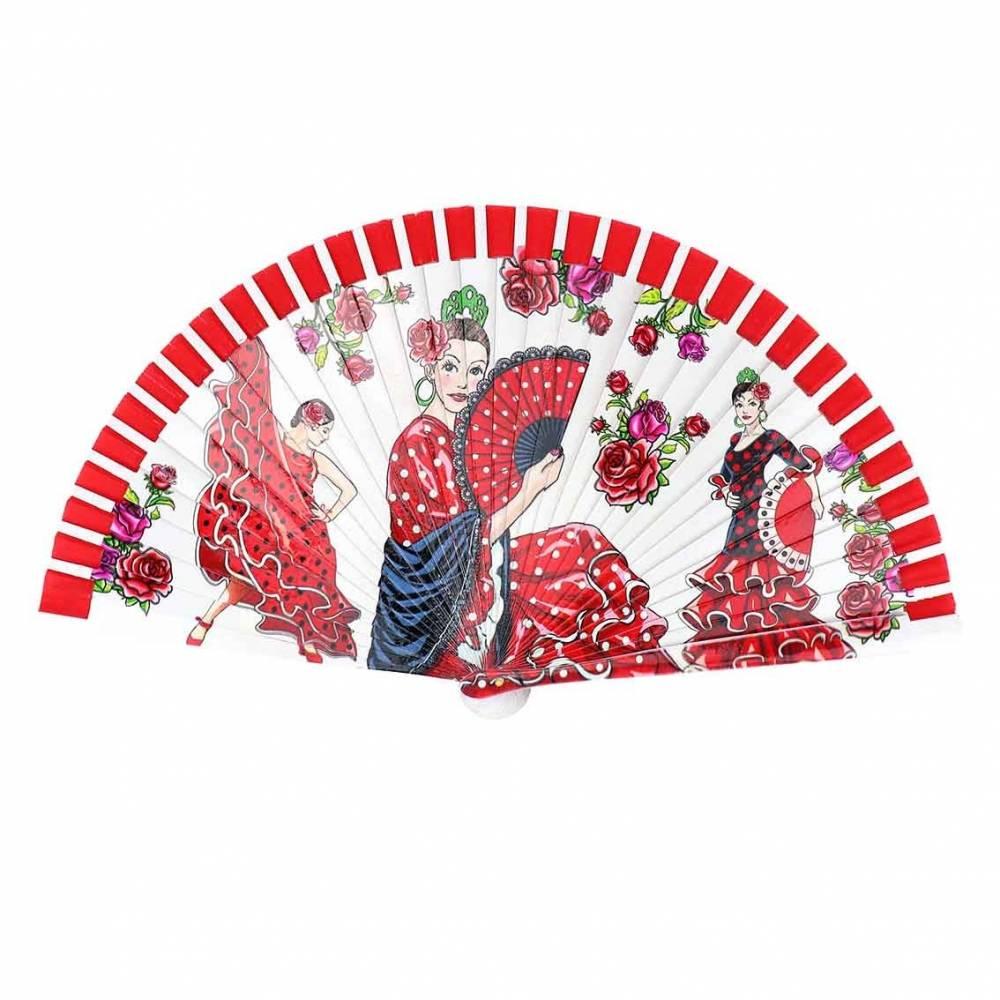 Abanico flamenca