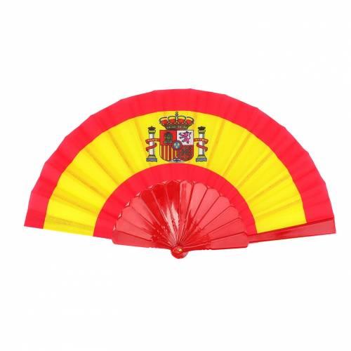 Abanico bandera de España