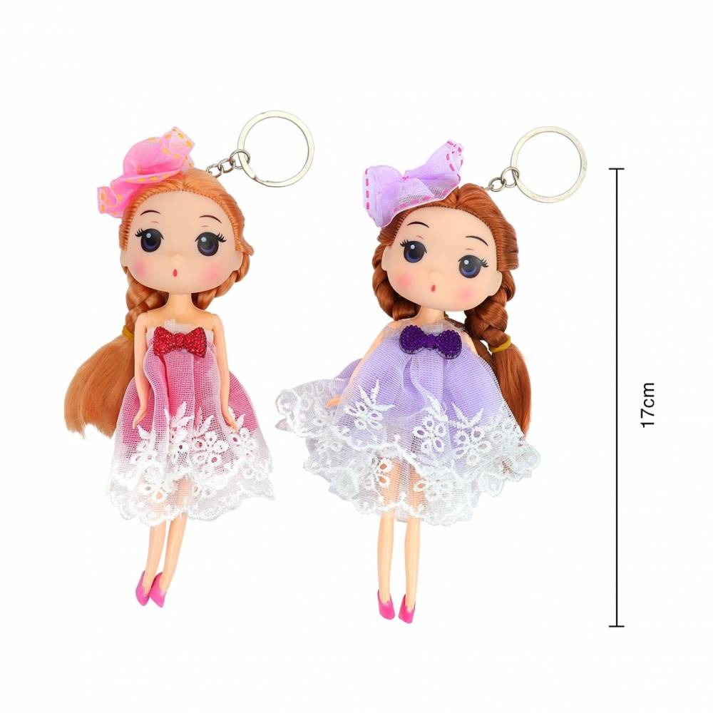 Llavero original de muñecas para niñas