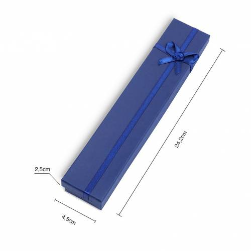 Caja regalo para collar rectangular