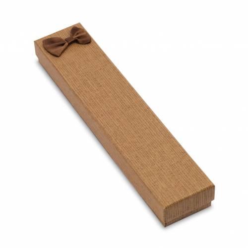 Caja regalo para collar liso con lazo