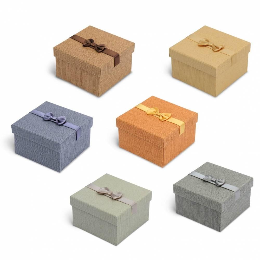 Caja de regalo cartón para pulseras, reloj