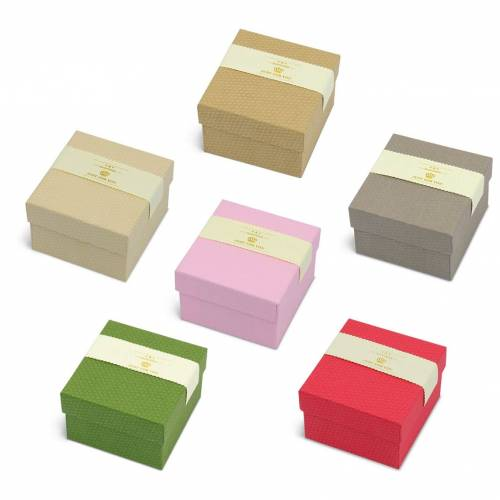 Caja de regalo cartón cuadrado Just for you
