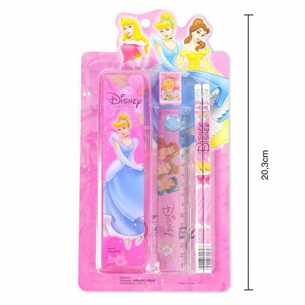 Pack de estuches de princesa Disney
