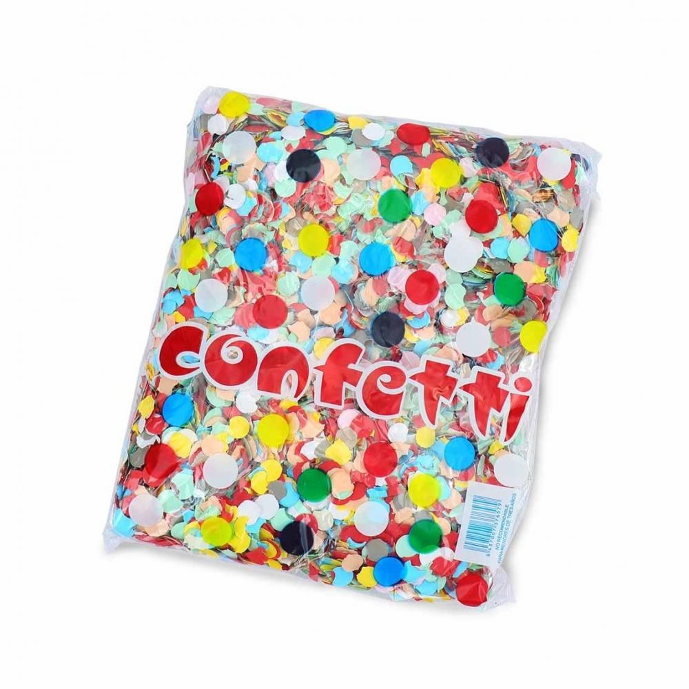 Confeti barato de papel de colores 500 gramos