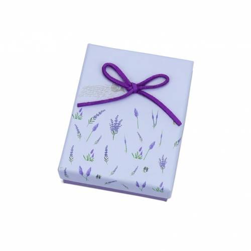 Caja regalo con flores para niñas