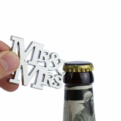 Abrebotellas MR&MRS para bodas