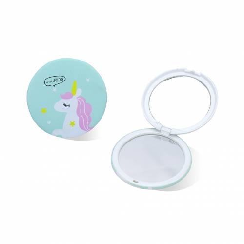 Espejito de unicornio para niñas