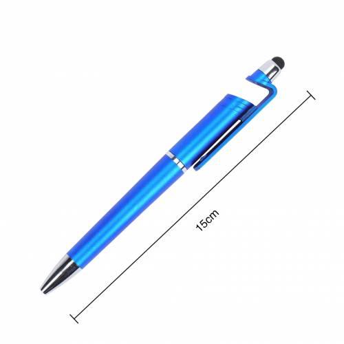 Bolígrafo punta táctil y soporte de móvil
