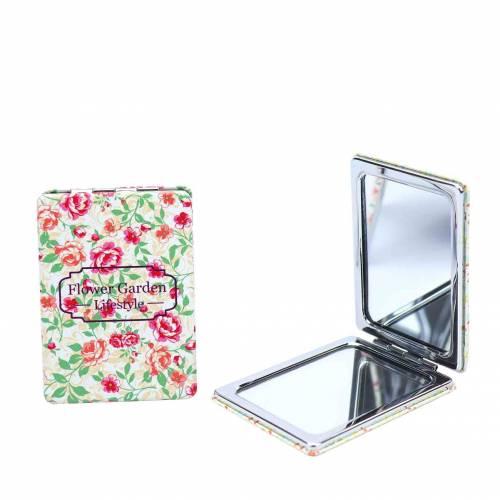 Espejos de bolsillo flores