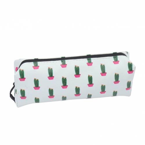 Estuche escolar de cactus para regalar