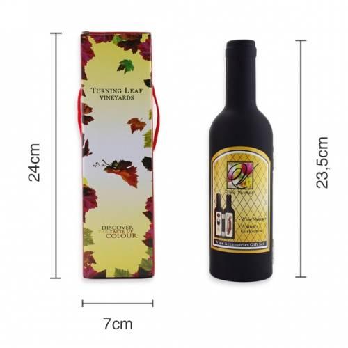 Set de vino 3 piezas en estuche