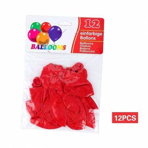 Globos rojos para fiestas