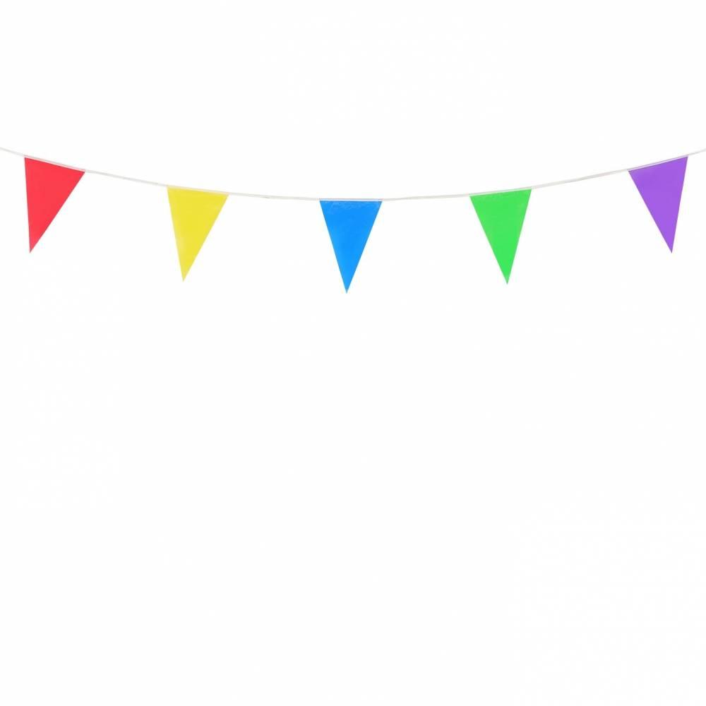 Banderines de colores para fiestas