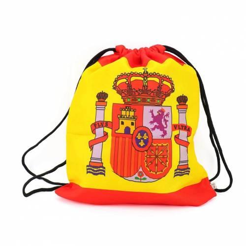Mochila de cuerdas con diseño de bandera de España