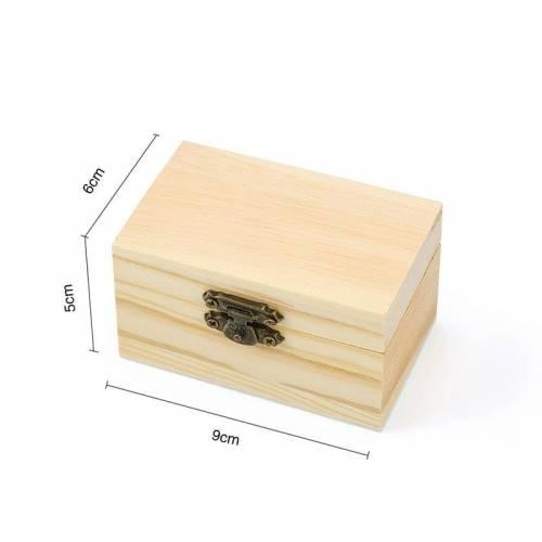 Cajita de madera clásica
