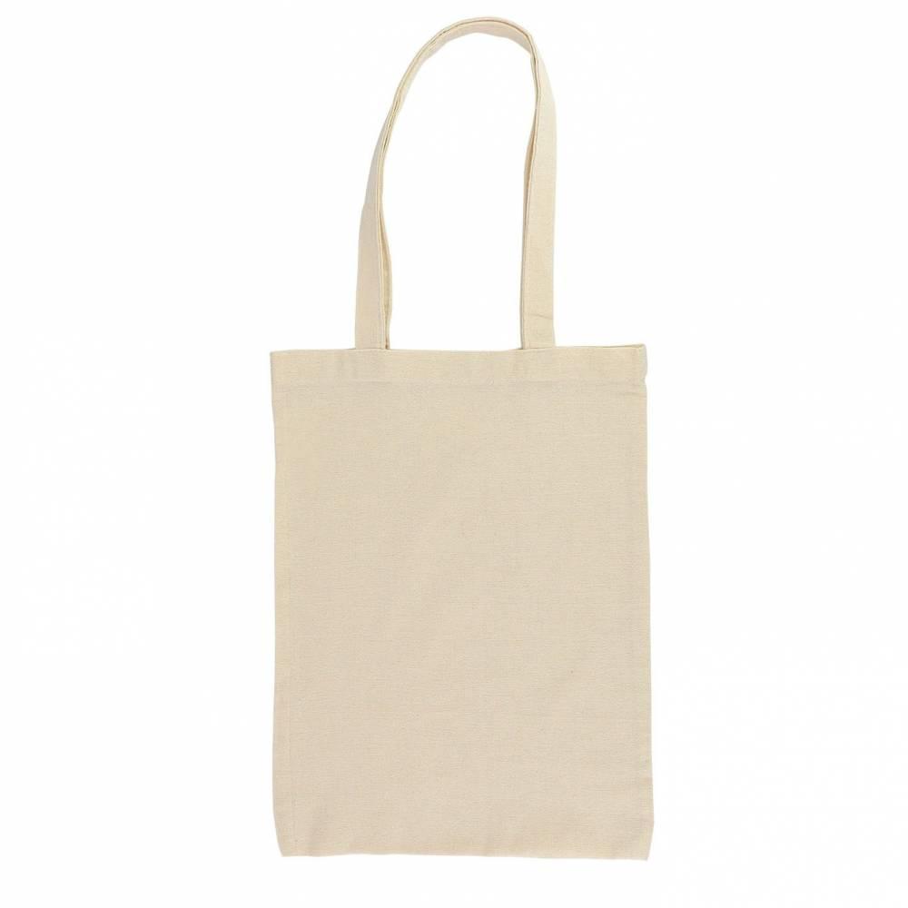 Bolsa blanca de algodón