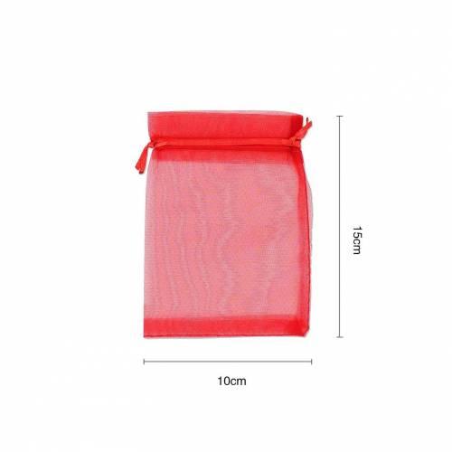 Bolsa de organza  10cm x 15cm - Detalles De Boda