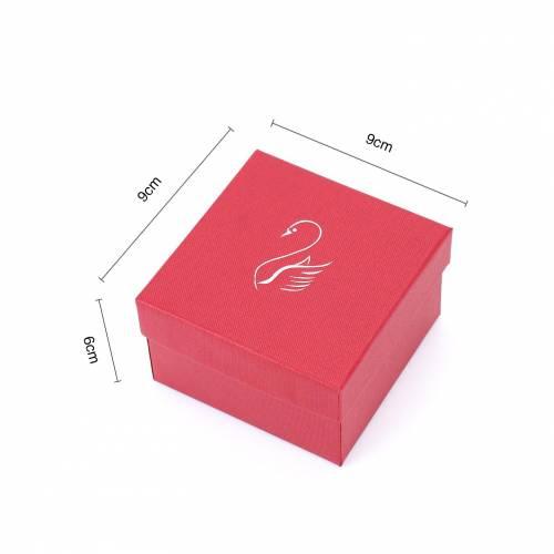 Caja de regalo para reloj con almohadilla Cisne Colores - Bolsitas, Cajitas, Tarros