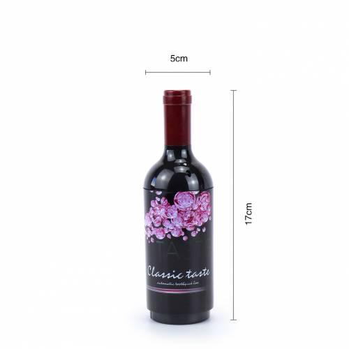 Dispensador de Palillos en forma de Botella de Vino - Inicio