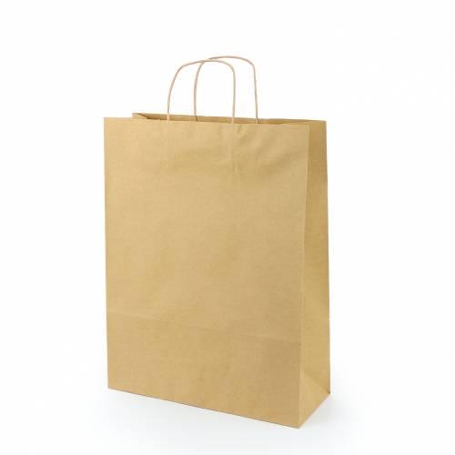 Bolsa de Kraft con Asas 3 Tamaños (18x24cm, 22x31 cm, 32x41 cm) - Bolsitas, Cajitas, Tarros