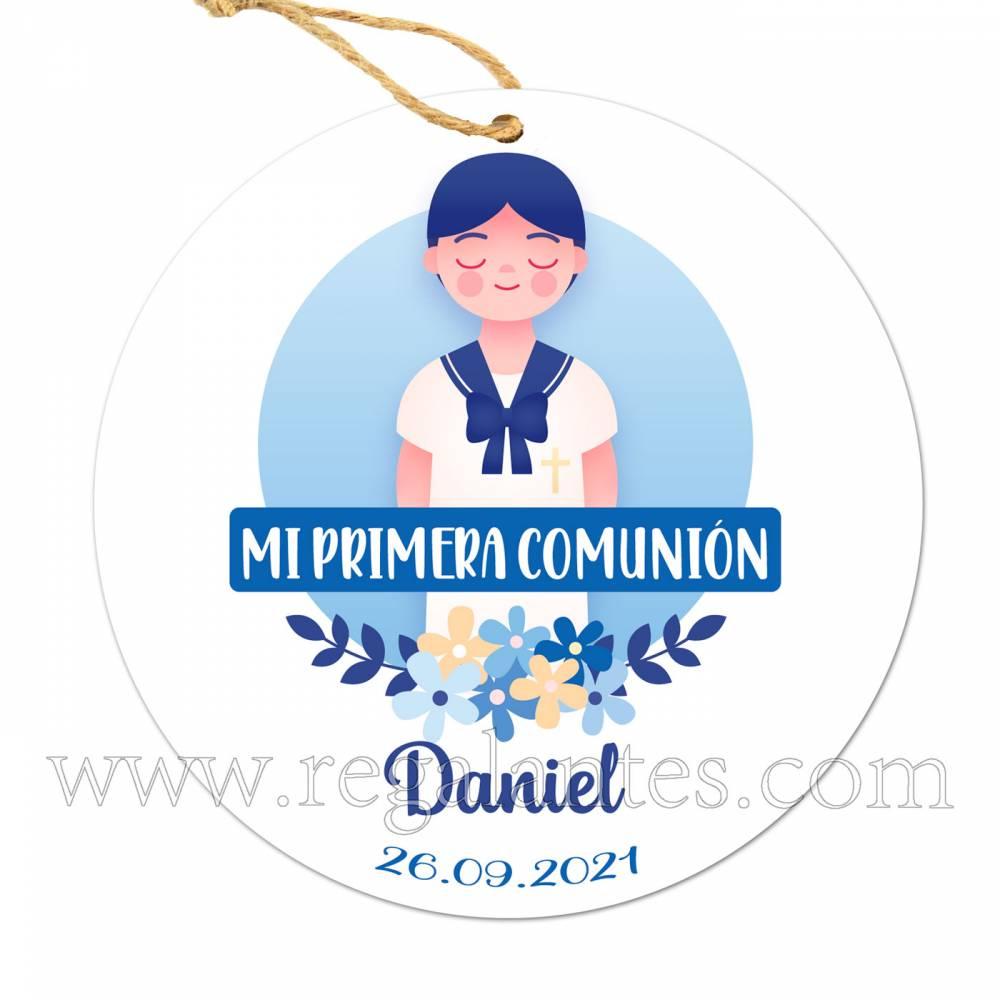Etiqueta Comunión Personalizada Niño Daniel - Inicio