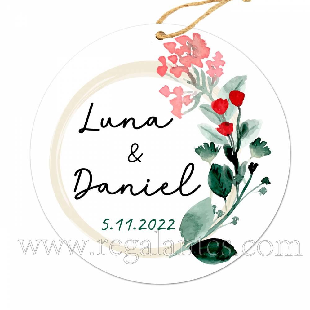 Etiqueta Personalizada Boda Amor - Pegatinas Y Etiquetas Personalizadas boda
