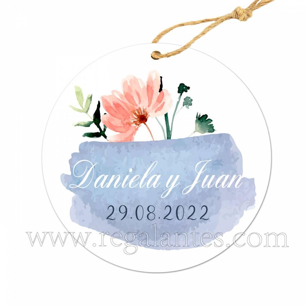 Etiqueta Boda Personalizada Cristal - Pegatinas Y Etiquetas Personalizadas boda