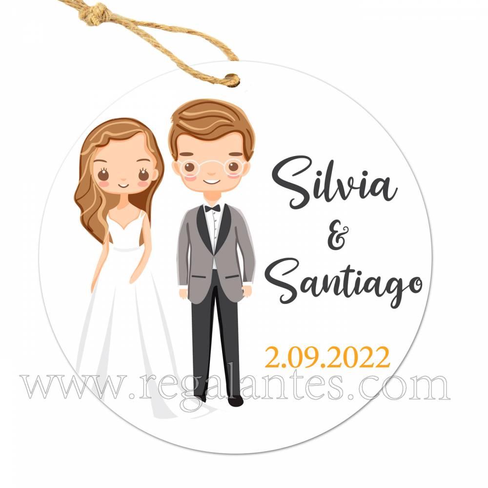 Etiqueta Boda Personalizada Lemonnade - Pegatinas Y Etiquetas Personalizadas boda