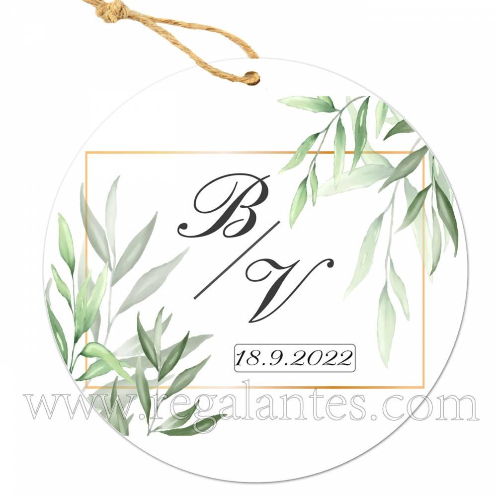 Etiqueta Boda Personalizada Milo - Pegatinas Y Etiquetas Personalizadas boda