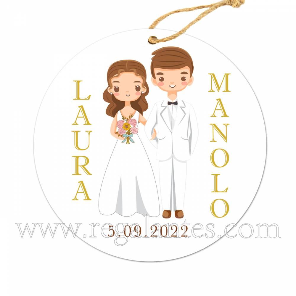 Etiqueta Boda Personalizada Together - Pegatinas Y Etiquetas Personalizadas boda