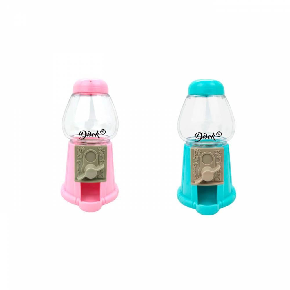 Máquina Expendedora pequeña de Chuches Rosa y Azul - Decoración De Boda
