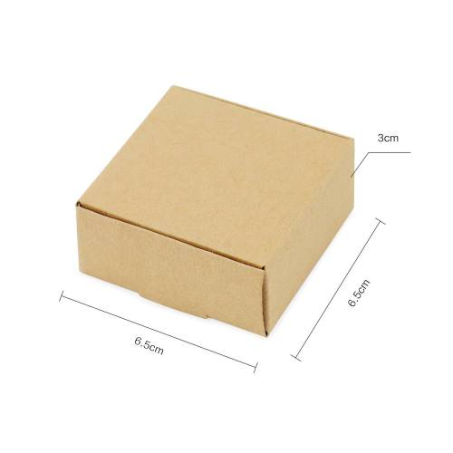 Caja cartón Kraft Regalo 3 tamaños Kraft - Inicio