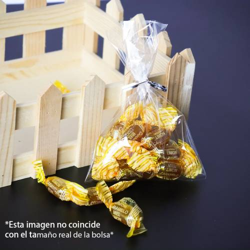 50 bolsas transparentes celofán 10x20cm - Detalles De Boda