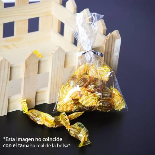 50 bolsas de celofán transparentes 13x20cm - Detalles De Boda