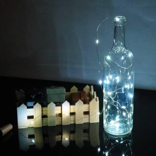 Luz blanca para botellas...