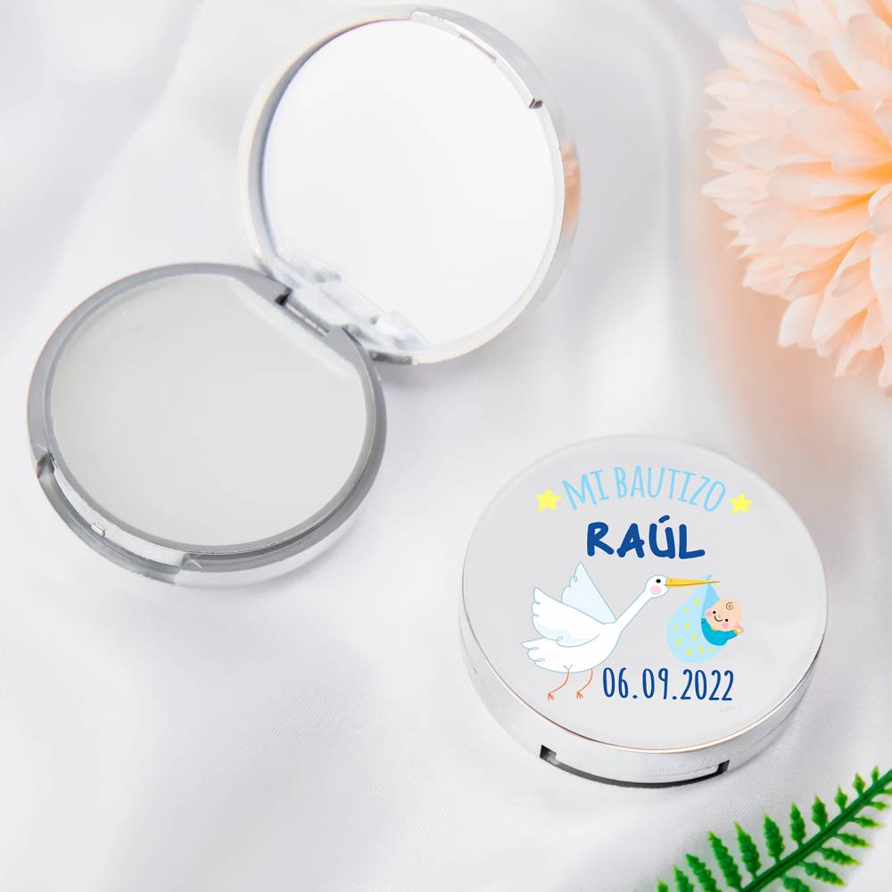 Bálsamo personalizable modelo Raúl detalles para bautizo - Detalles para bautizo