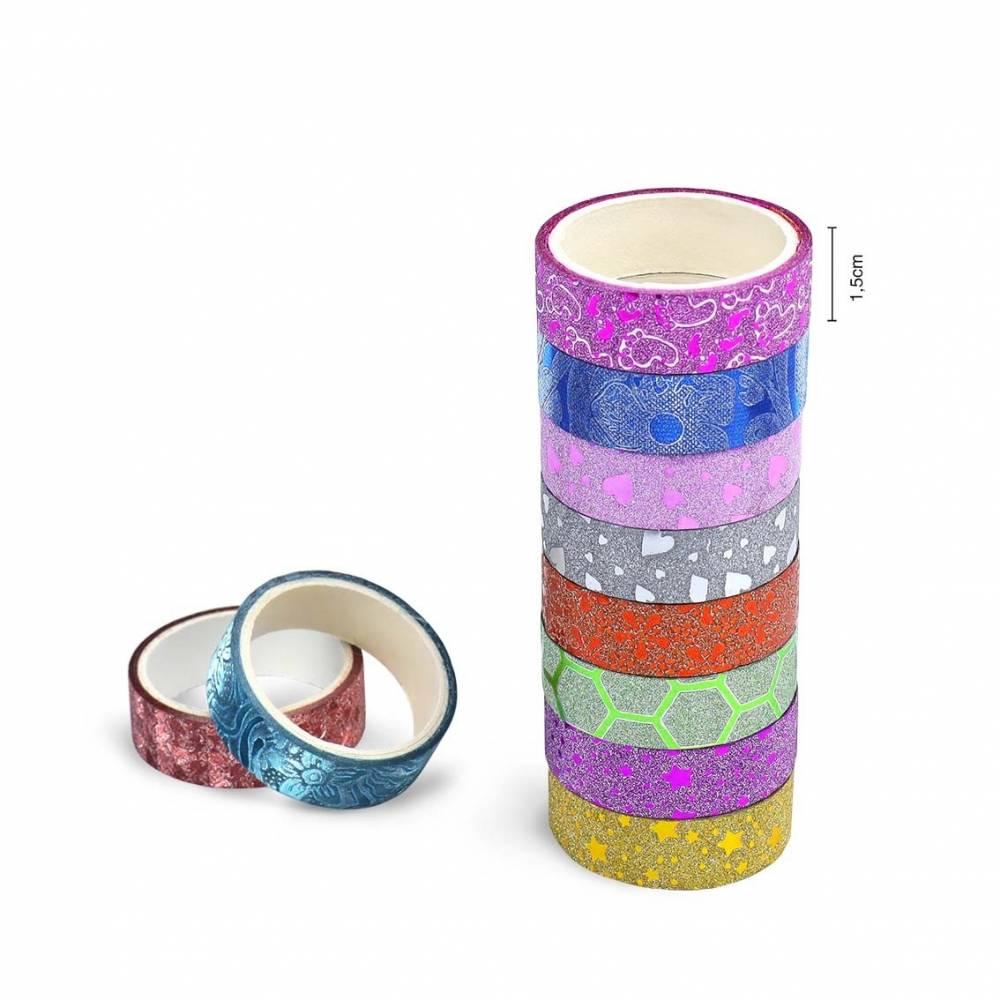Set 10 washi tape o cinta japonesa para manualidades