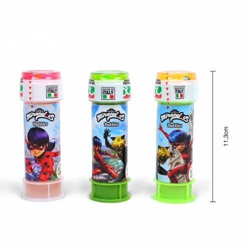 Pomperos de jabon de Ladybug para niños