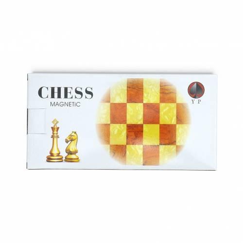 Juego de ajedrez pequeño portátil plegable para niños tablero y fichas