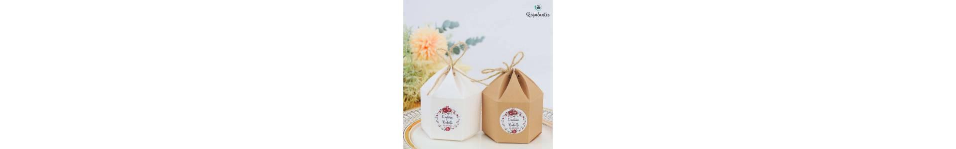 ▷ Comprar  bolsitas cajas tarros detalles de bodas   Regalantes