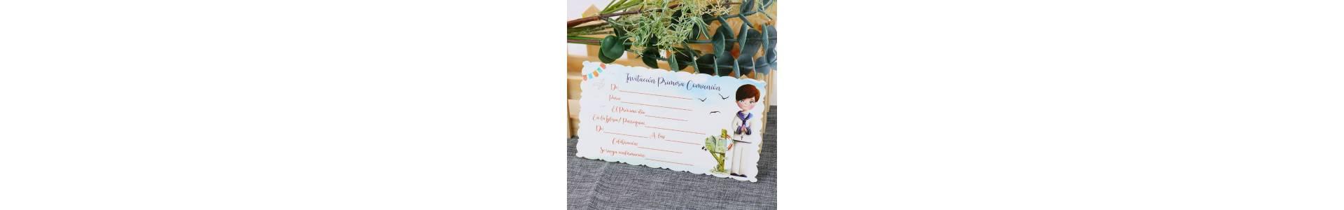 ▷ Comprar invitaciones de comunión | Regalantes